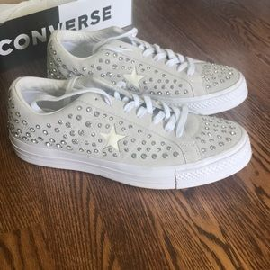Converse opening ceremony studded sneakers